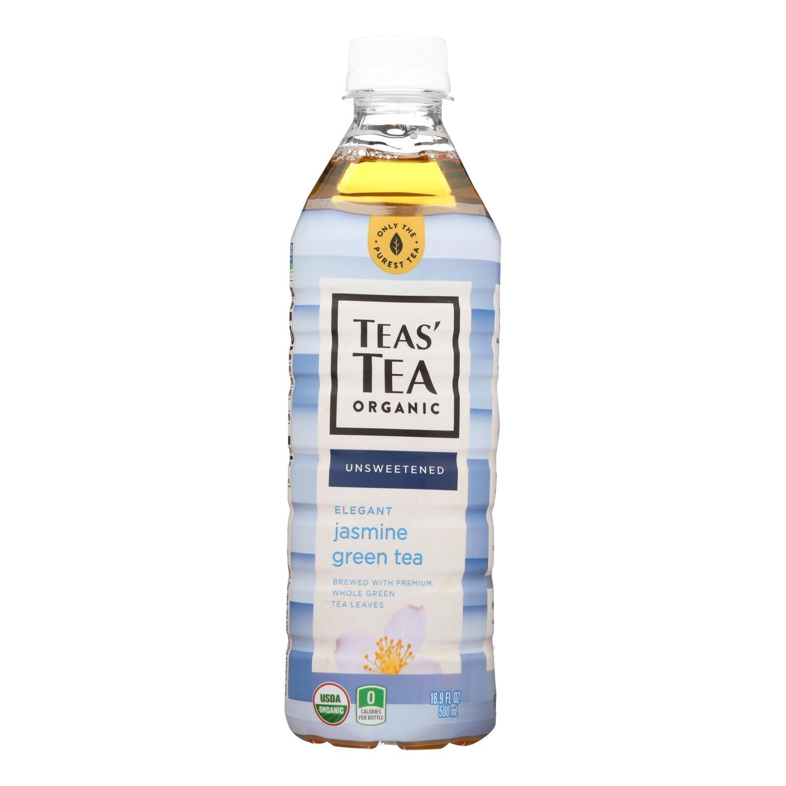 Itoen Tea - Organic - Jasmine - Green - Bottle - Case of 12 - 16.9 fl oz