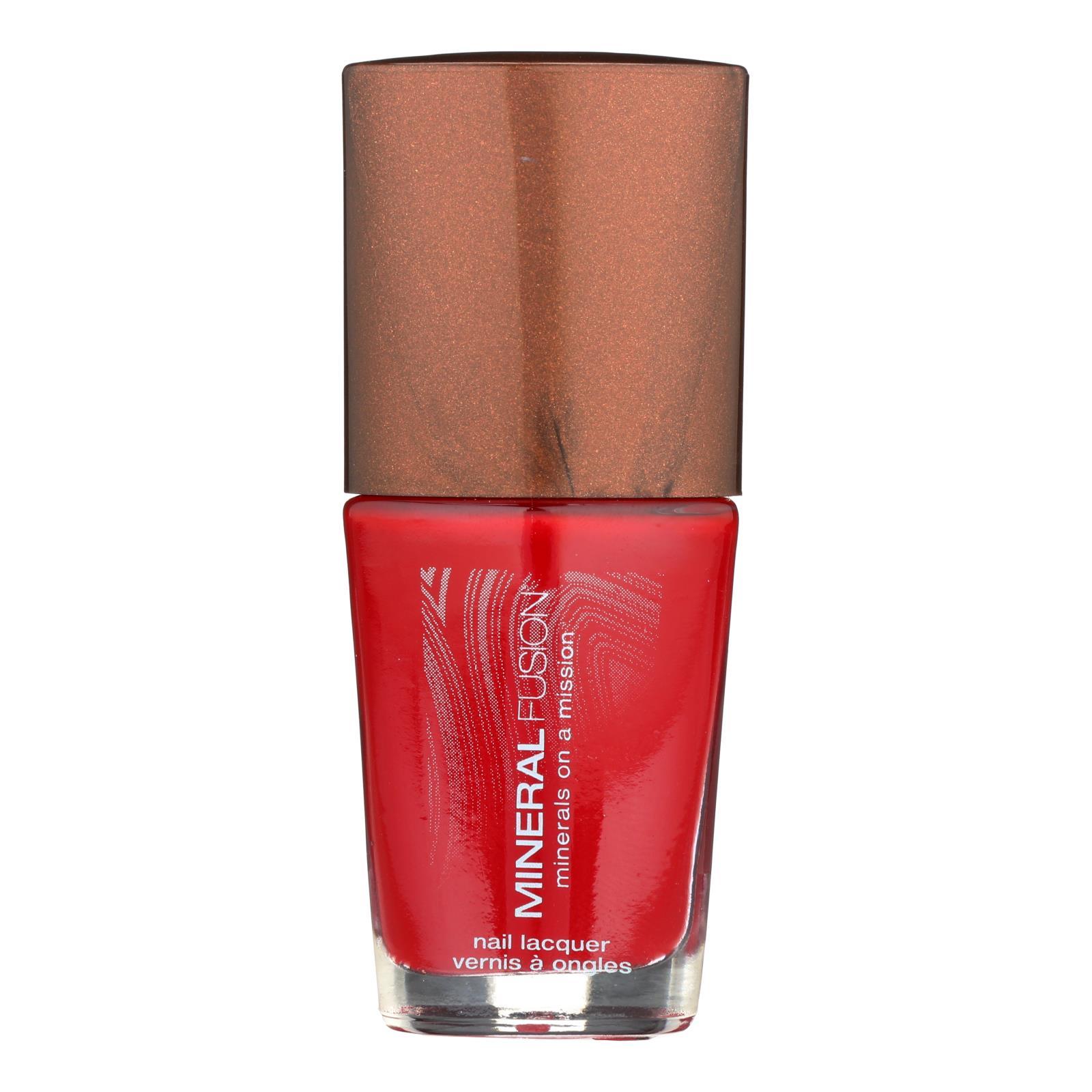 Mineral Fusion - Nail Polish - Crimson Clay - 0.33 oz.