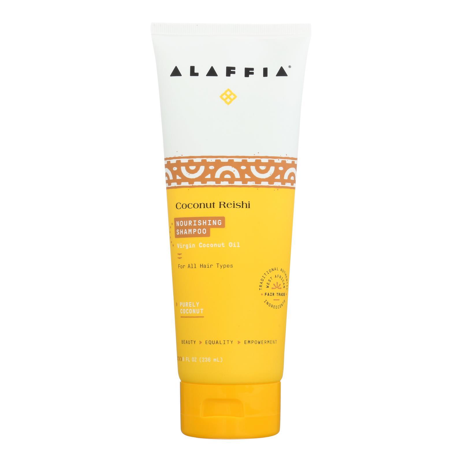 Alaffia - Shampoo Coconut Reishi - 8 fl oz.