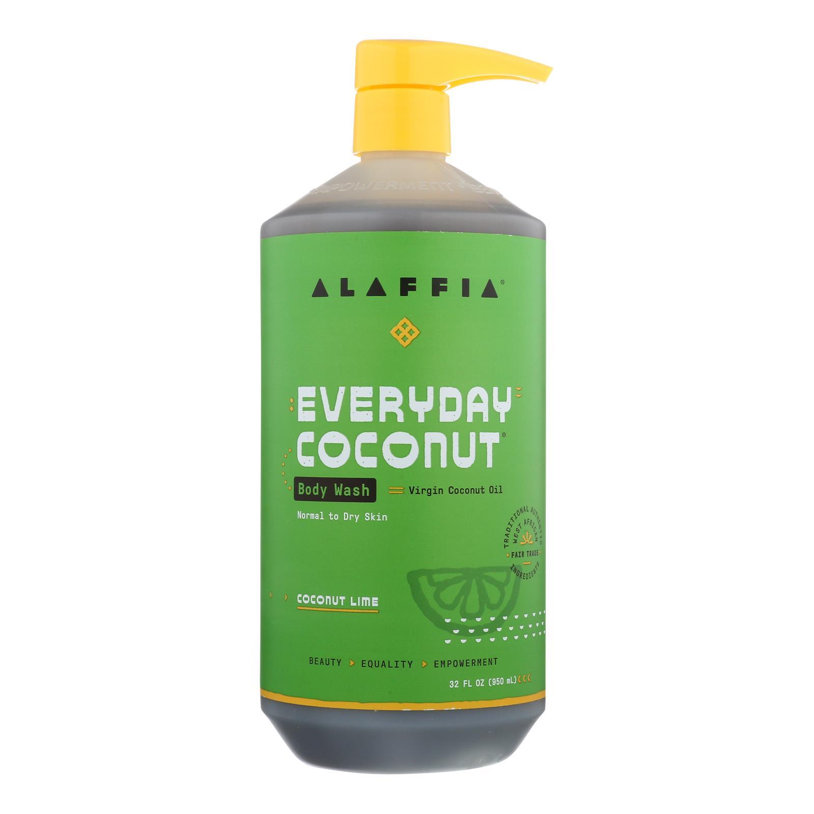 Alaffia - Everyday Body Wash - Coconut Lime - 32 fl oz.