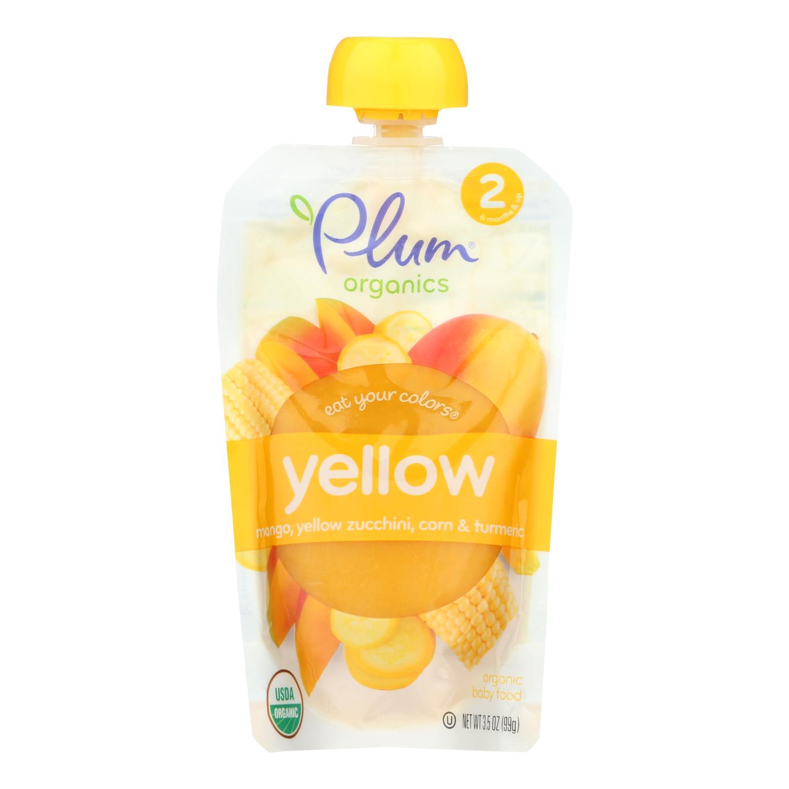 Plum Organics Baby Food  - Case of 6 - 3.5 OZ