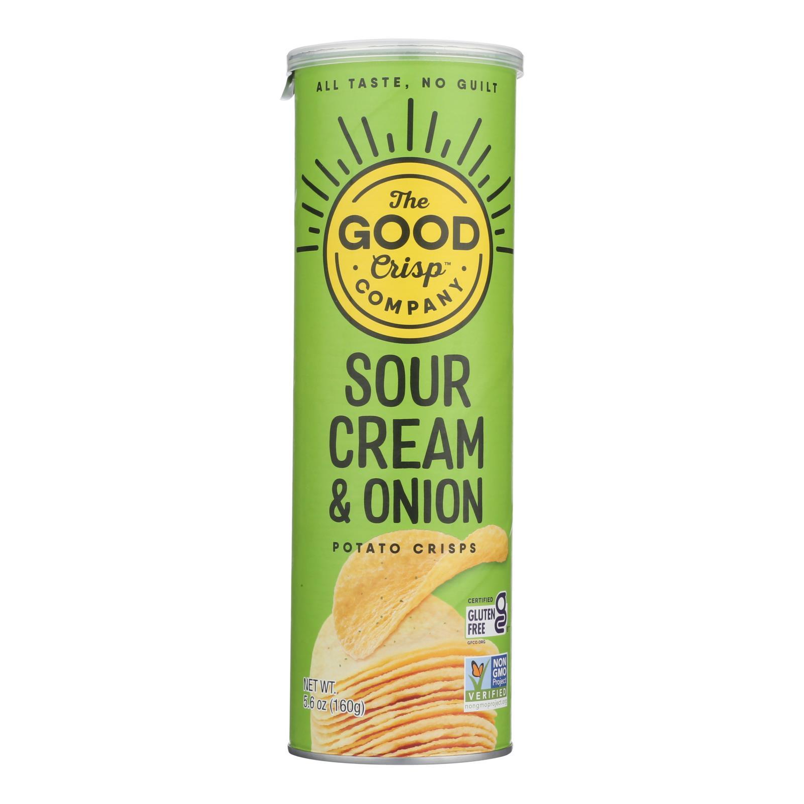 The Good Crisp - Sour Cream and Onion - Case of 8 - 5.6 oz.