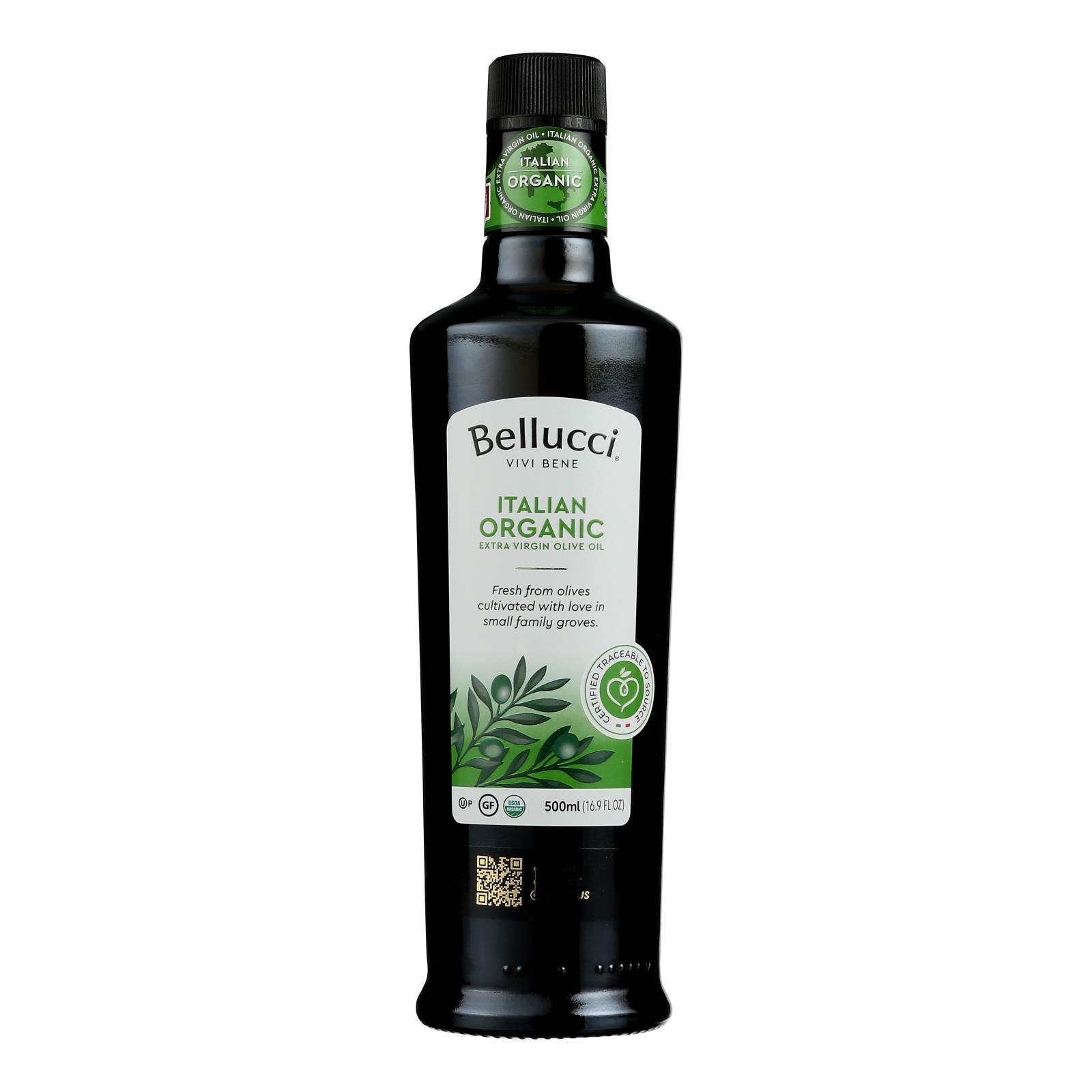 Bellucci Premium Olive Oil - Extra Virgin - Case of 6 - 500 Ml