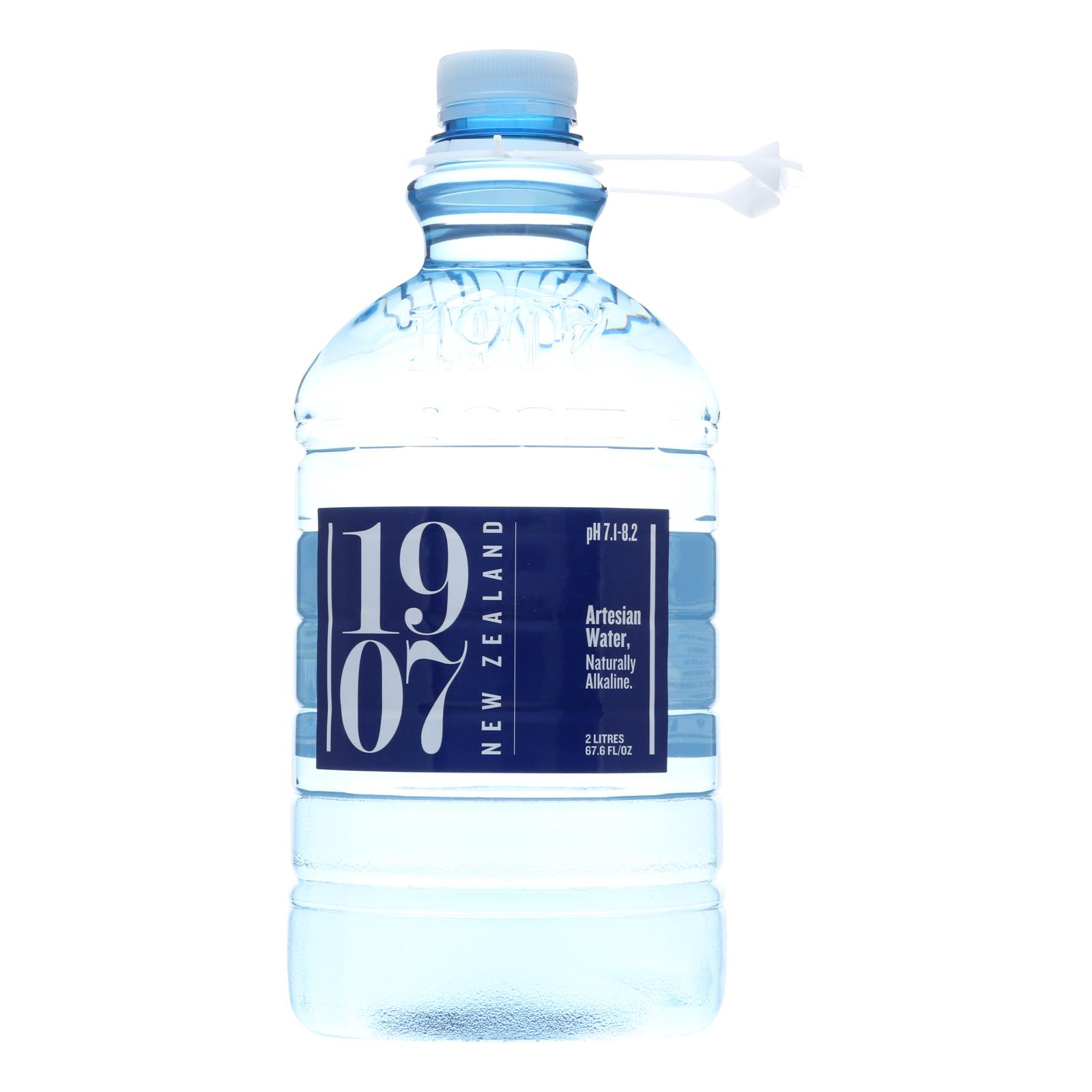 1907 - New Zealand Artesian Water - Case of 8 - 67.6 fl oz.