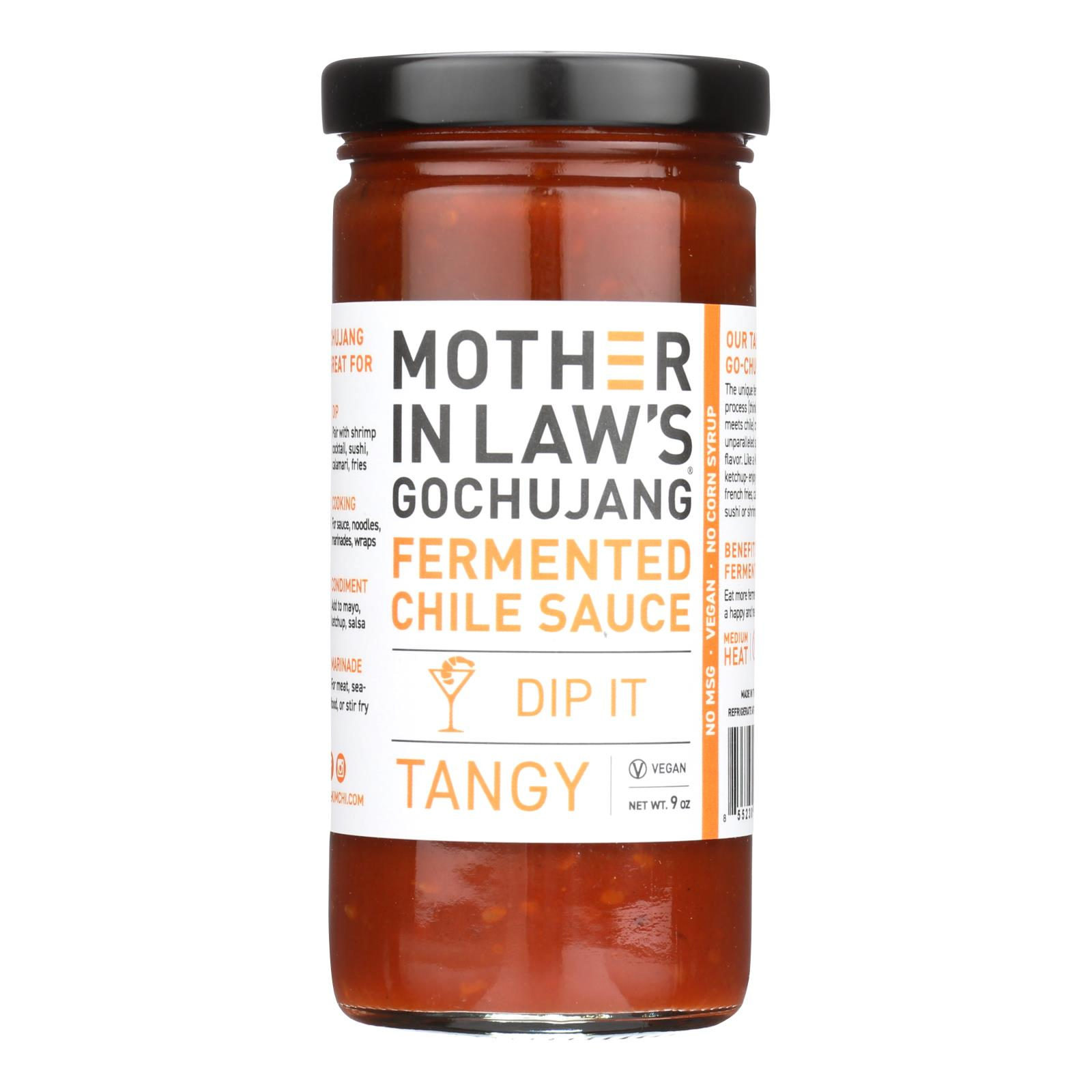 Mother-In-Law's Kimchi Gochujang Fermented Chile Paste - Case of 6 - 9 OZ