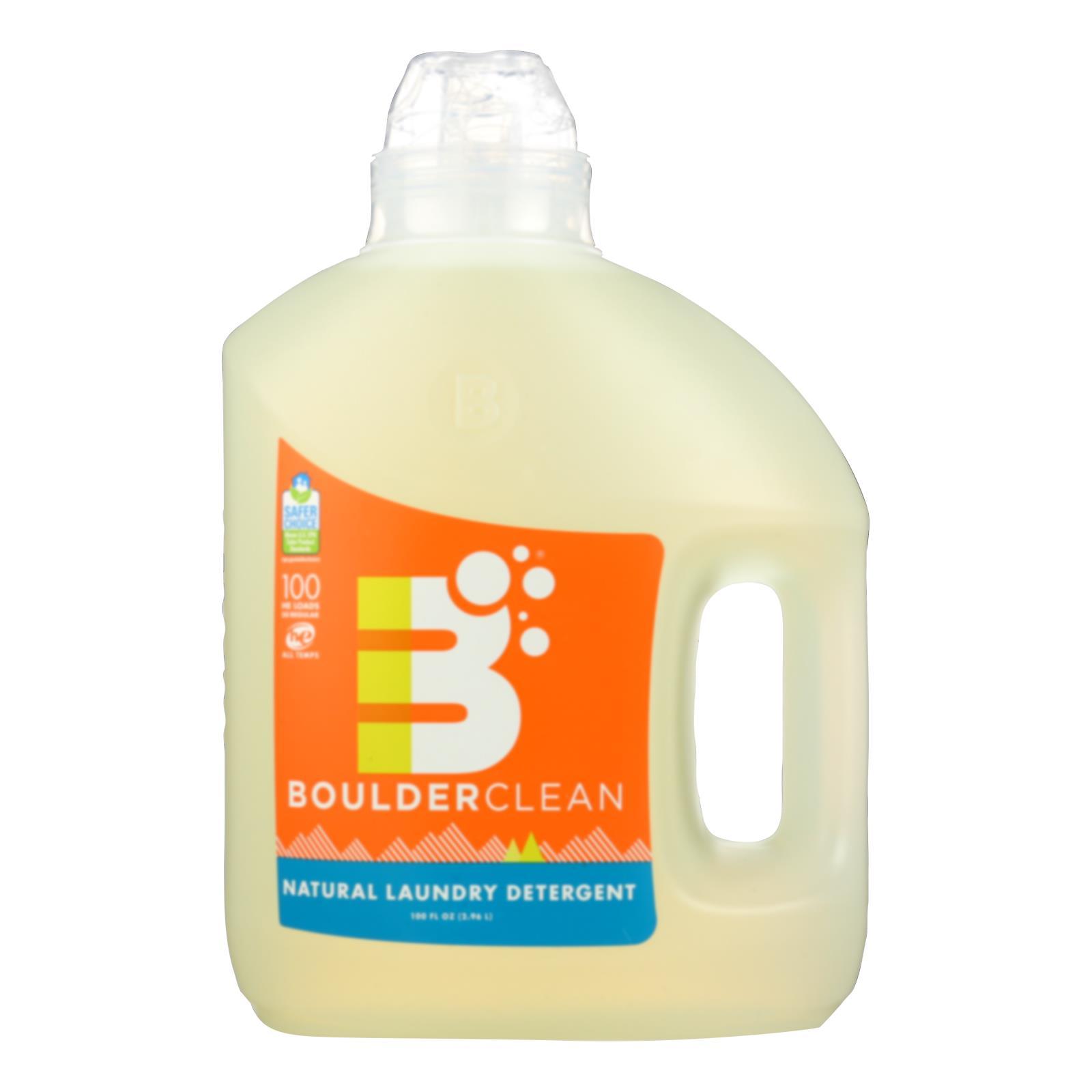 Boulder Clean - Liquid Laundry Detergent - Valencia Orange - Case of 4 - 100 fl oz.