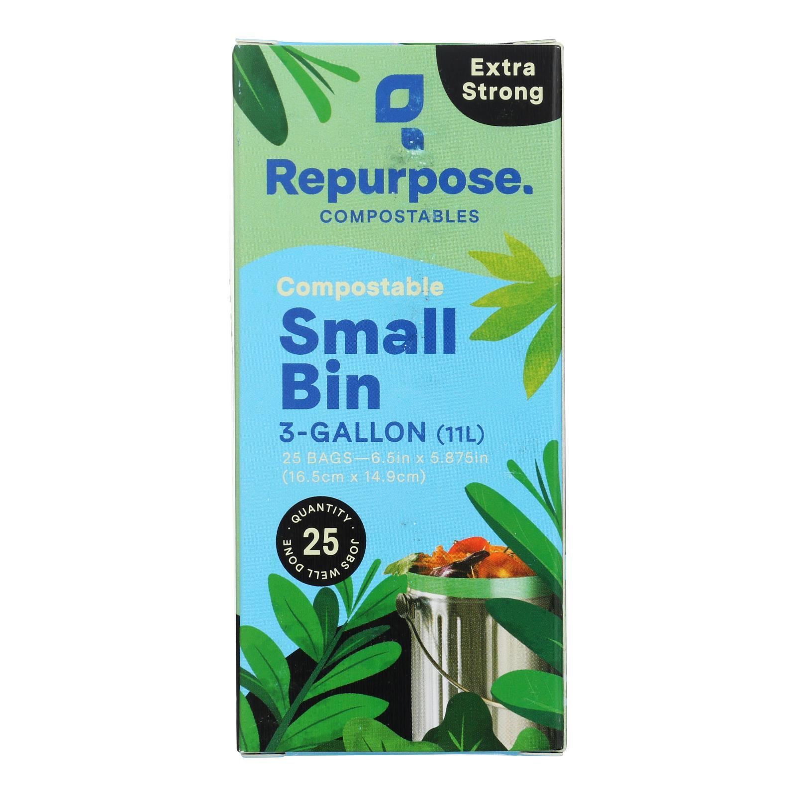 Repurpose - Bags Food Scrap - Case of 20 - 25 CT