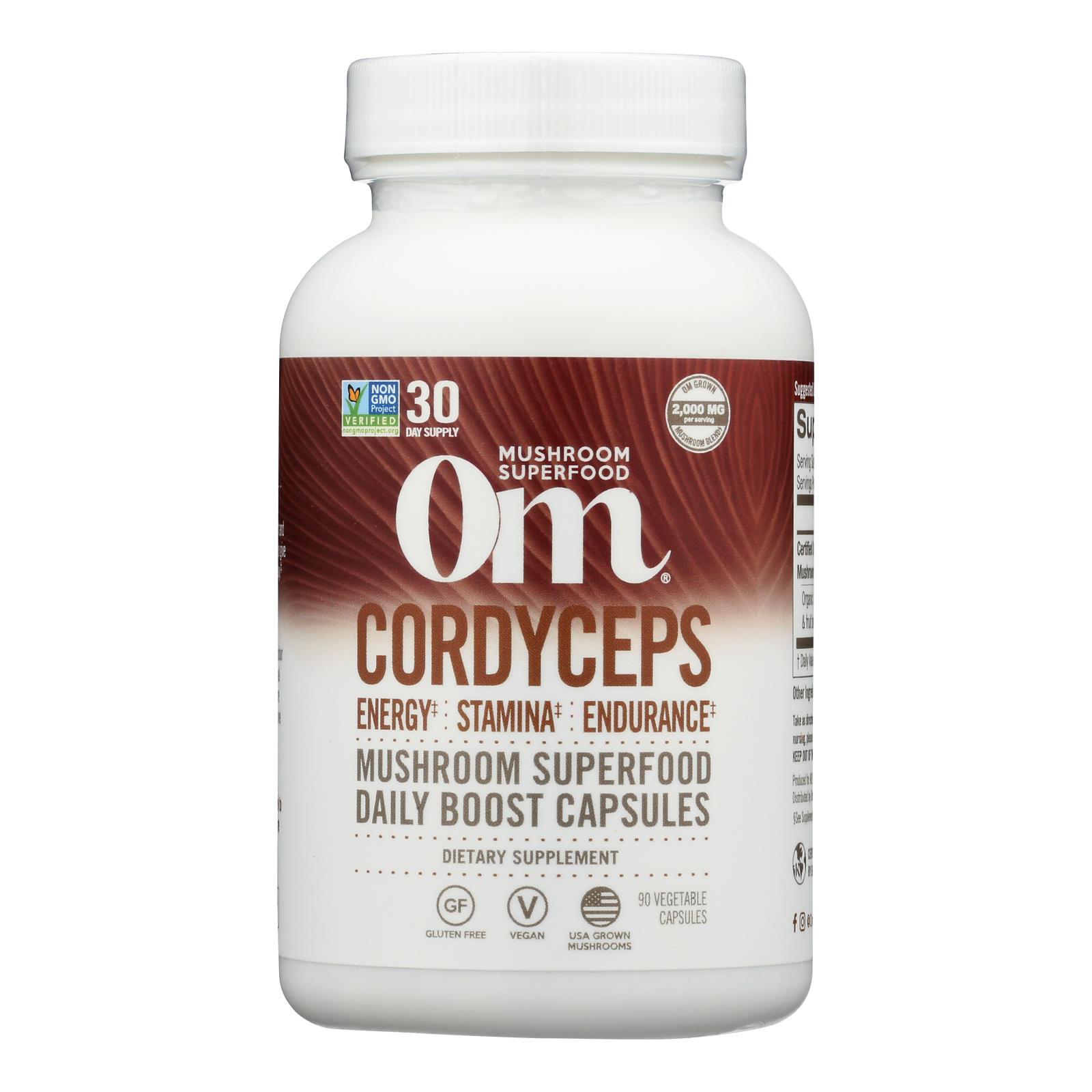 Organic Mushroom Nutrition - Mush Sprfd Crdycpts Caps - 1 Each - 90 CT