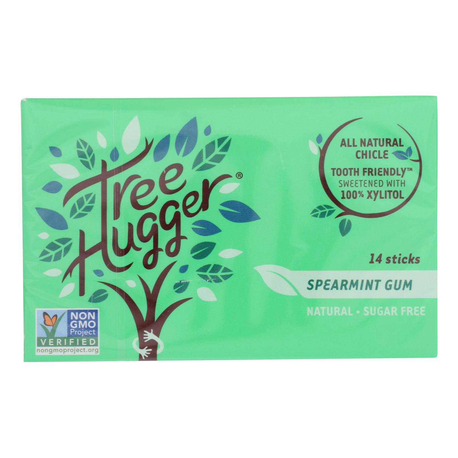 Tree Hugger - Gum Spearmint Xylitol - Case of 12 - 14 CT