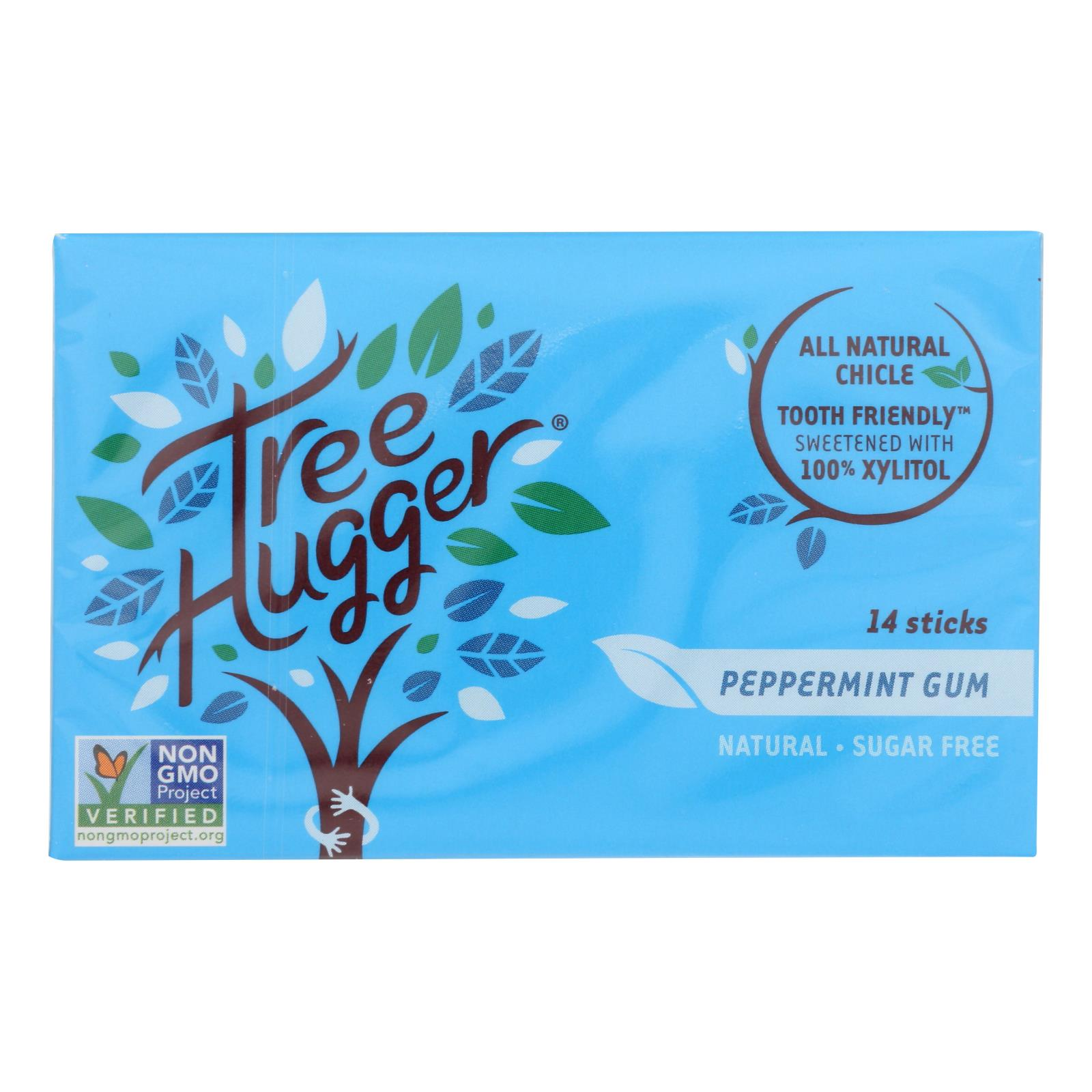 Tree Hugger - Gum Peppermint Xylitol - Case of 12 - 14 CT