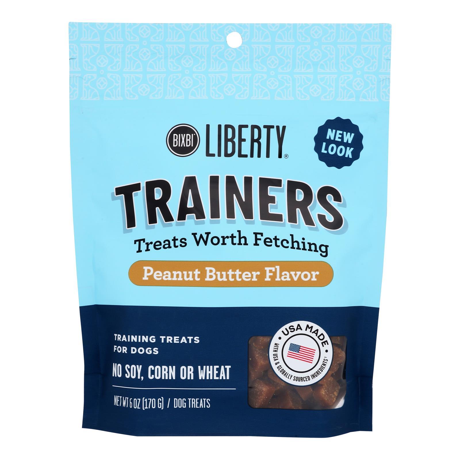 Buckley - Morsels Jerky Treats - Peanut Butter - Case of 8 - 6 oz.