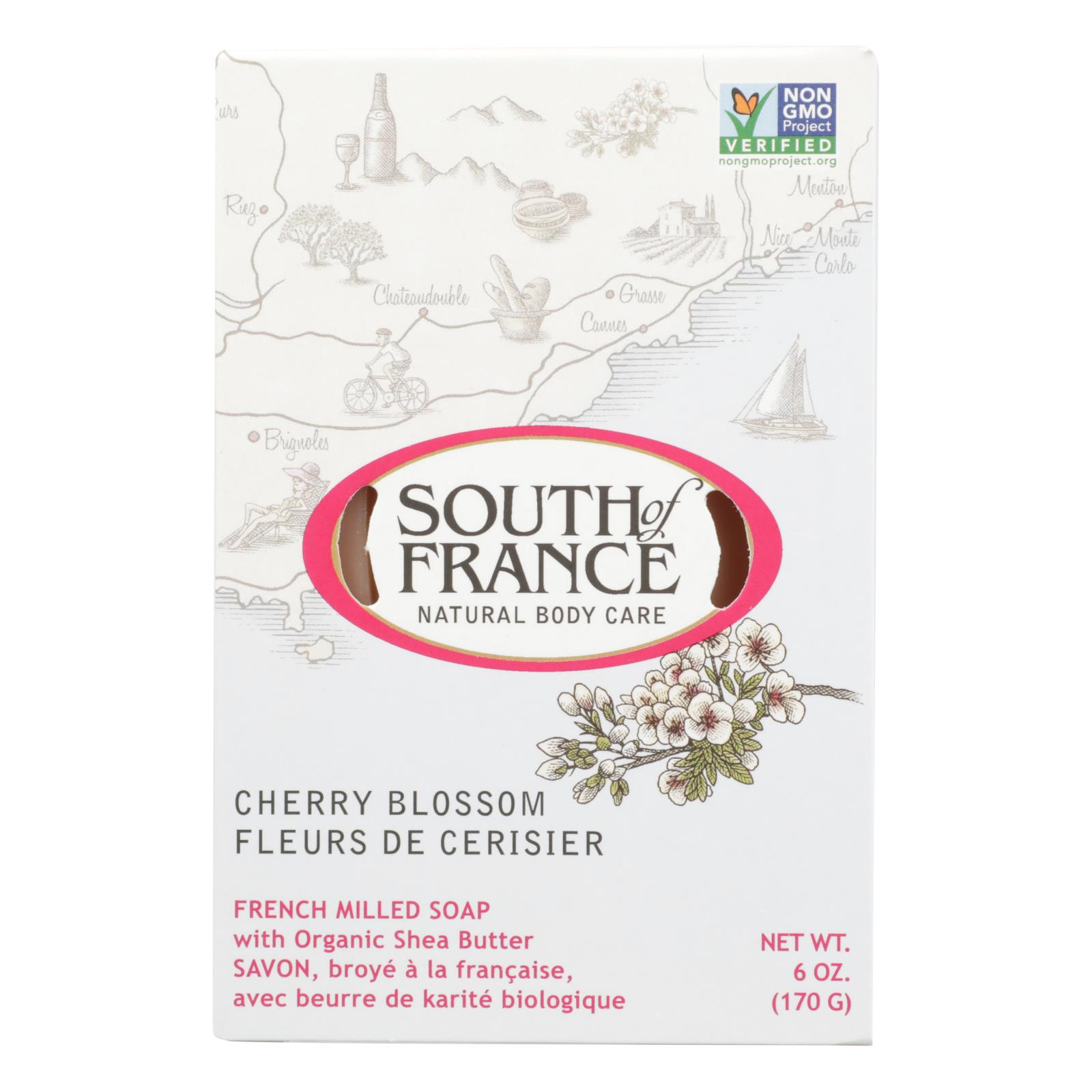 South Of France - Bar Soap Cherry Blssm - 1 Each - 6 OZ
