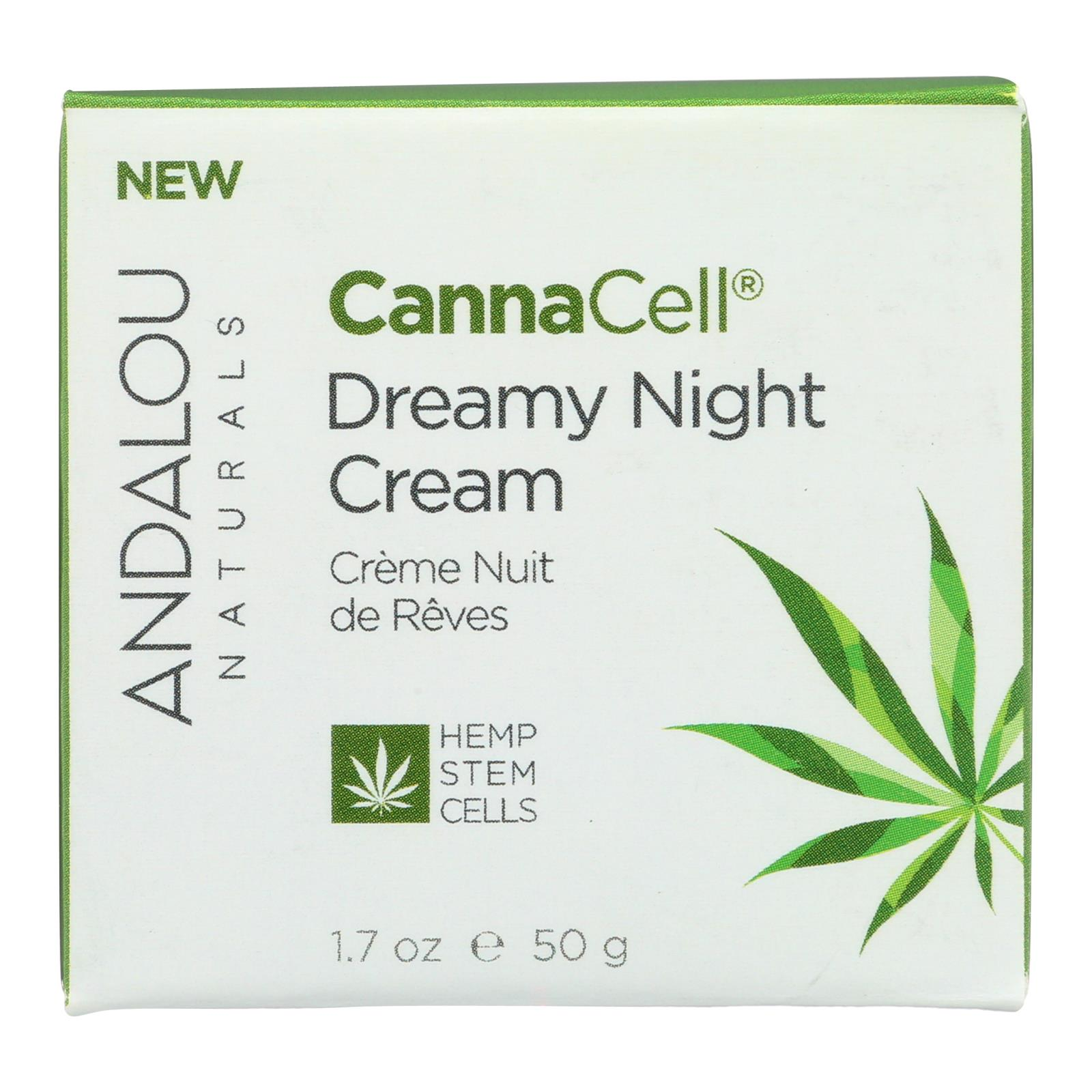 Andalou Naturals - CannaCell Dreamy Night Cream - 1.7 oz.
