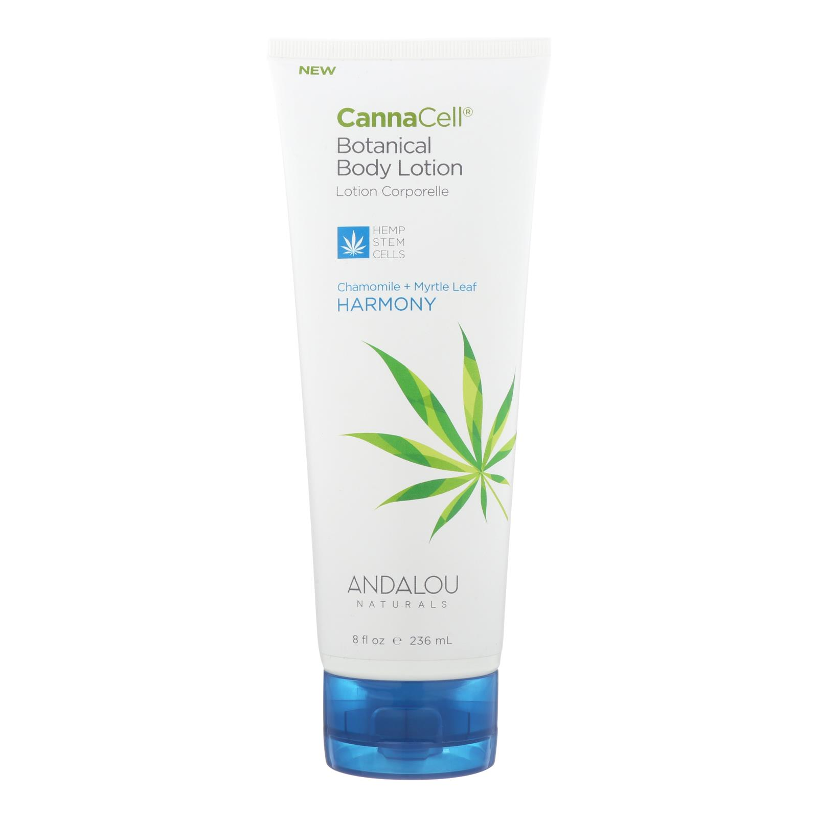 Andalou Naturals Lotion - Chamomile and Myrtle Leaf - 1 Each - 8 fl oz.