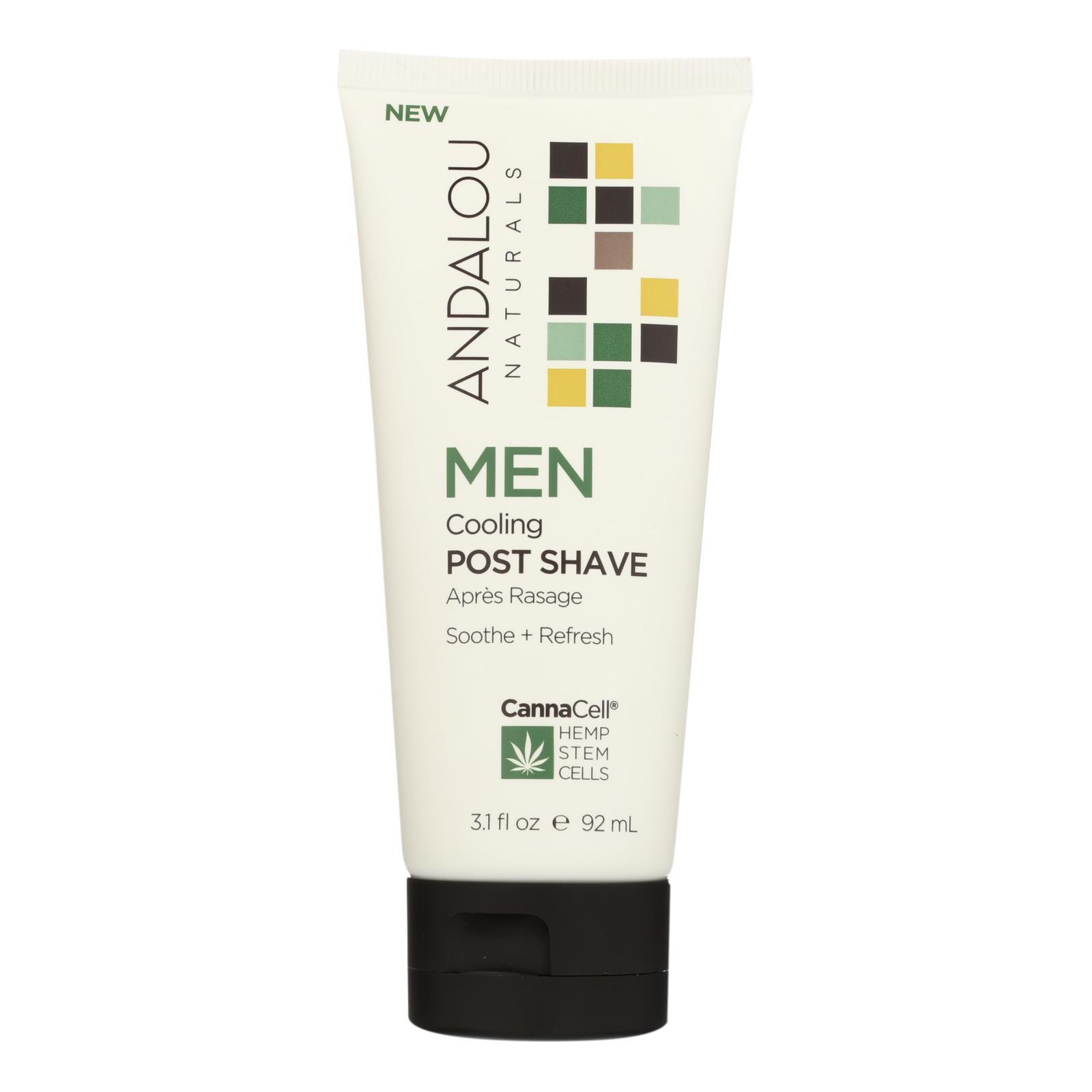Andalou Naturals - MEN Cooling Post Shave - 3.1 fl oz.