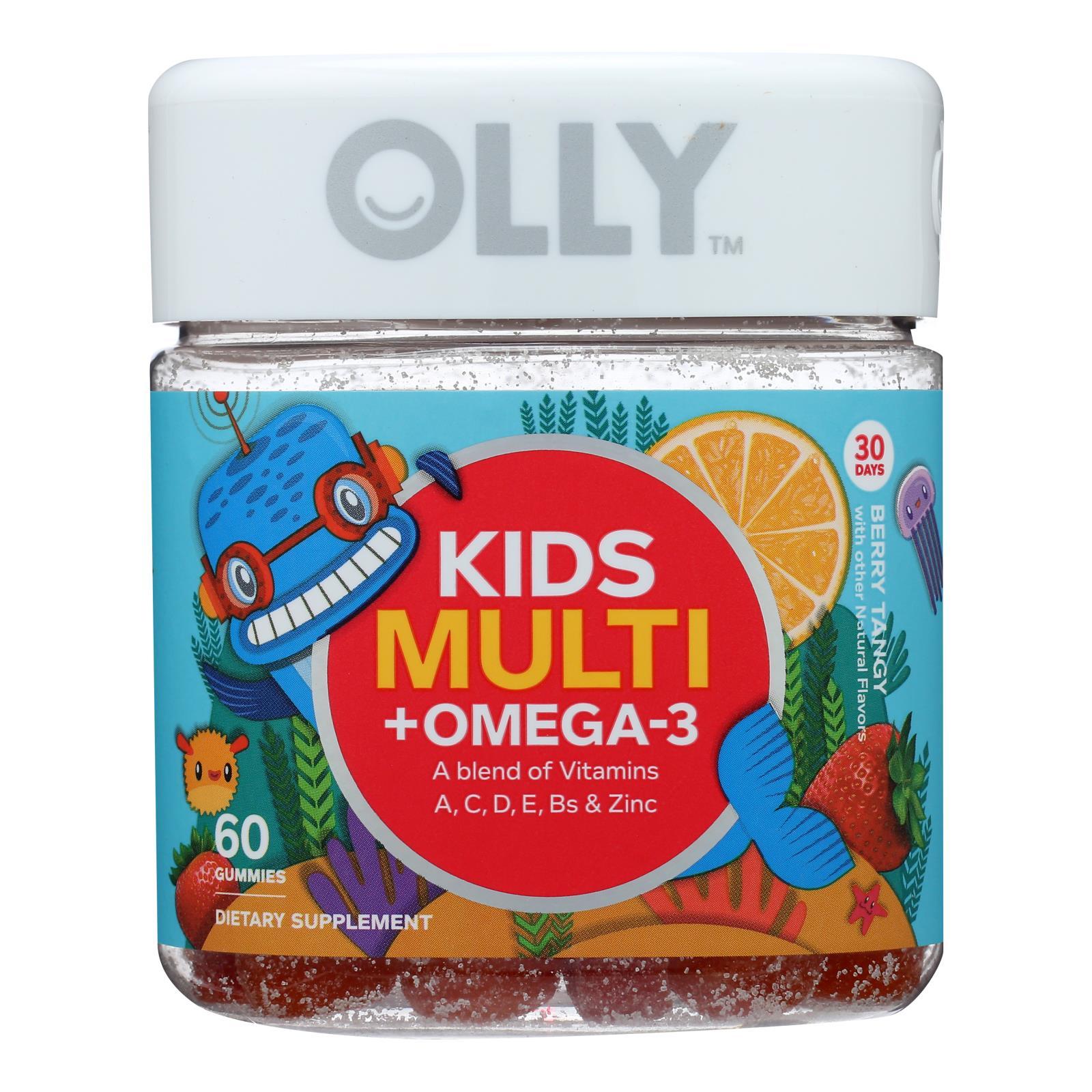 Olly - Multivit Plus Omega Kid - 1 Each - 60 CT
