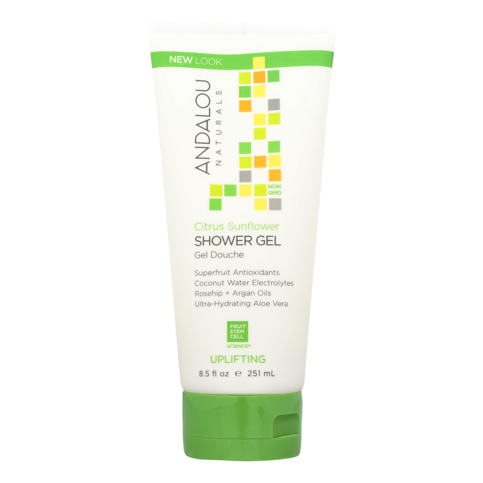 Andalou Naturals - Shower Gel Citrus Snflwer - 8.5 FZ