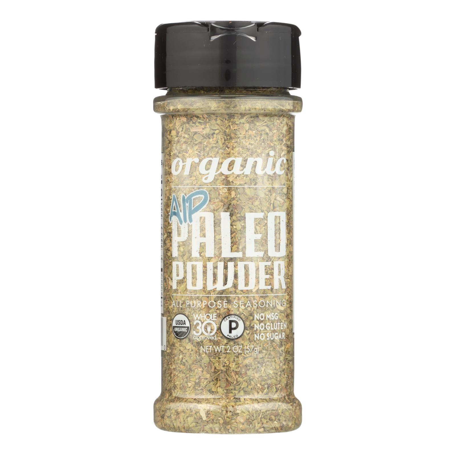 Paleo Powder Seasonings - Paleo Powder - Autoimmune Protocal - Case of 6 - 2 oz.