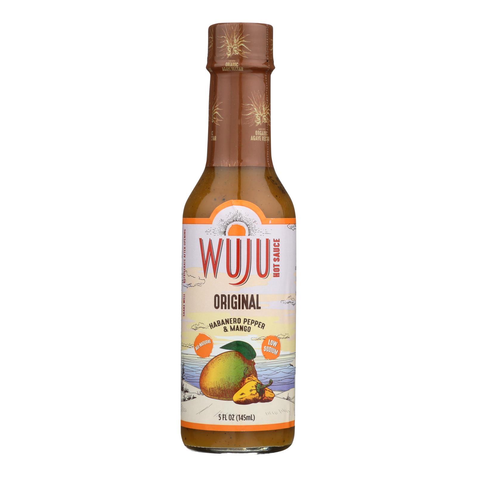 Wuju Hot Sauce - Original - Case of 6 - 5 oz.