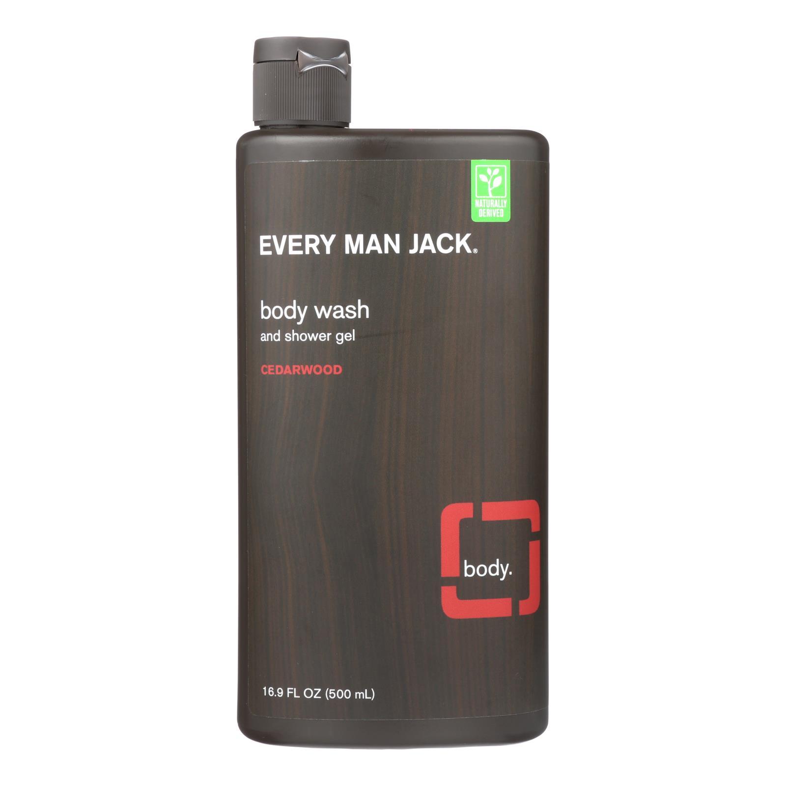 Every Man Jack Body Wash - Cedarwood - 16.9 oz