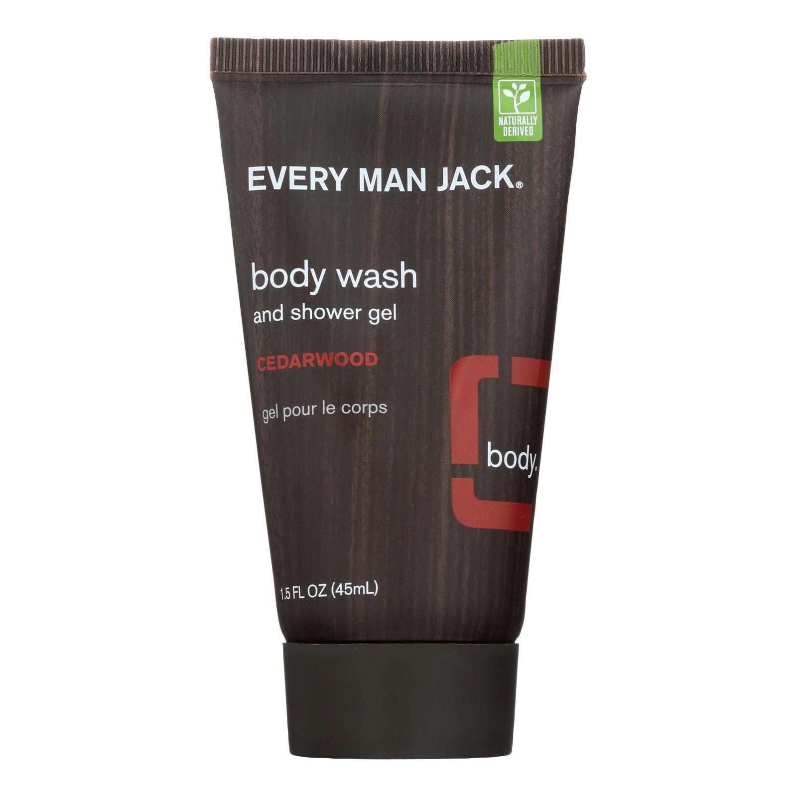 Every Man Jack Body Wash Cedar wood - Body Wash - 1 FL oz.