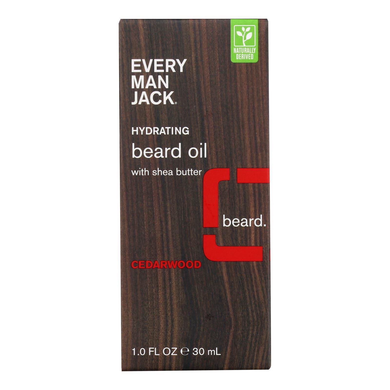 Every Man Jack Beard Oil - Cedar wood - 1 oz.