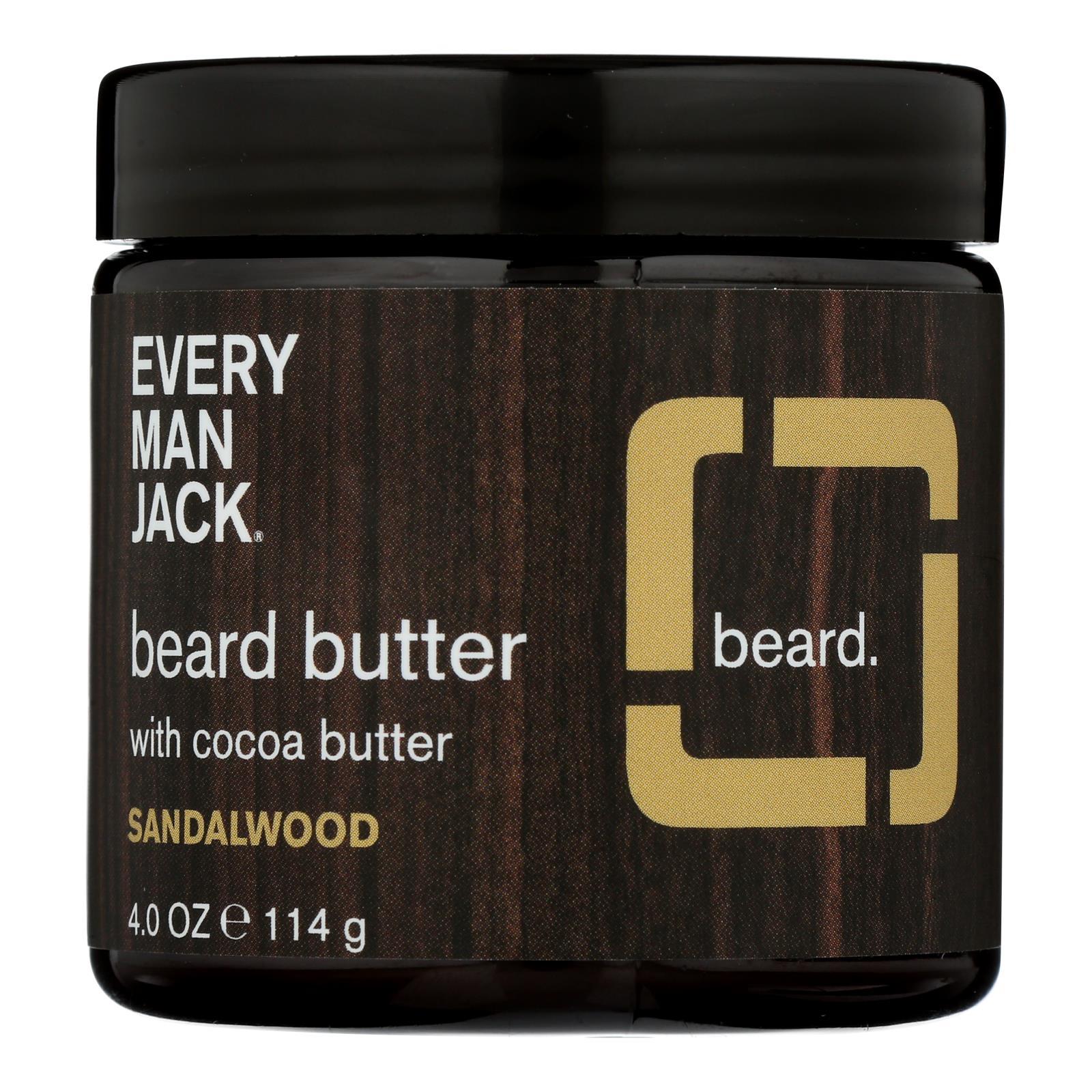 Every Man Jack - Beard Butter Sandalwood - 1 Each - 4 OZ