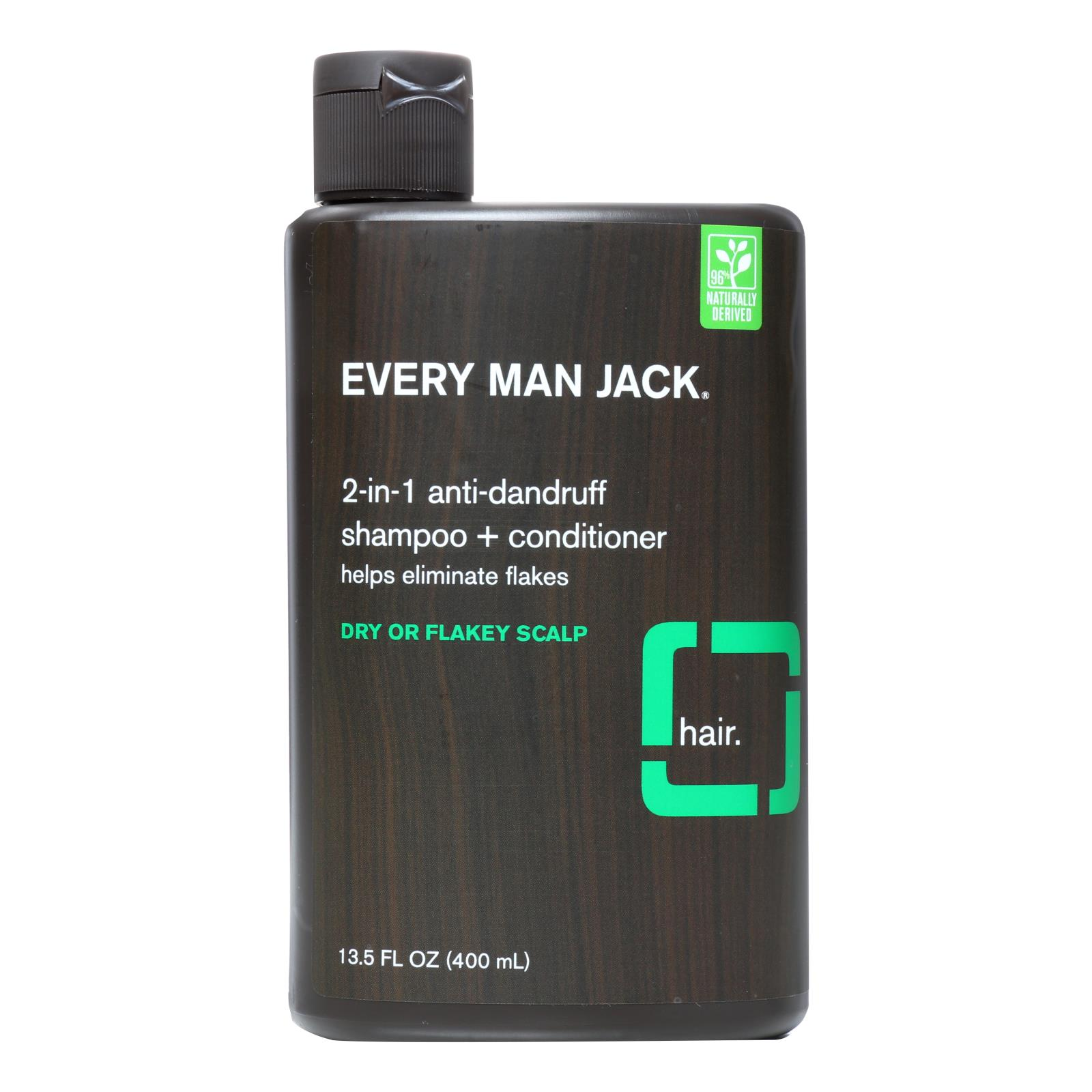 Every Man Jack Shampoo - 2In1 - Anti-Dandruff - 13.50 fl oz