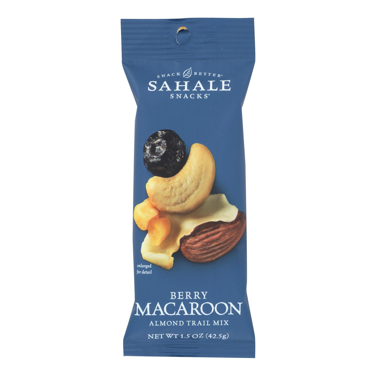 Sahale Berry Macaroon Almond Trail Mix  - Case of 9 - 1.5 OZ
