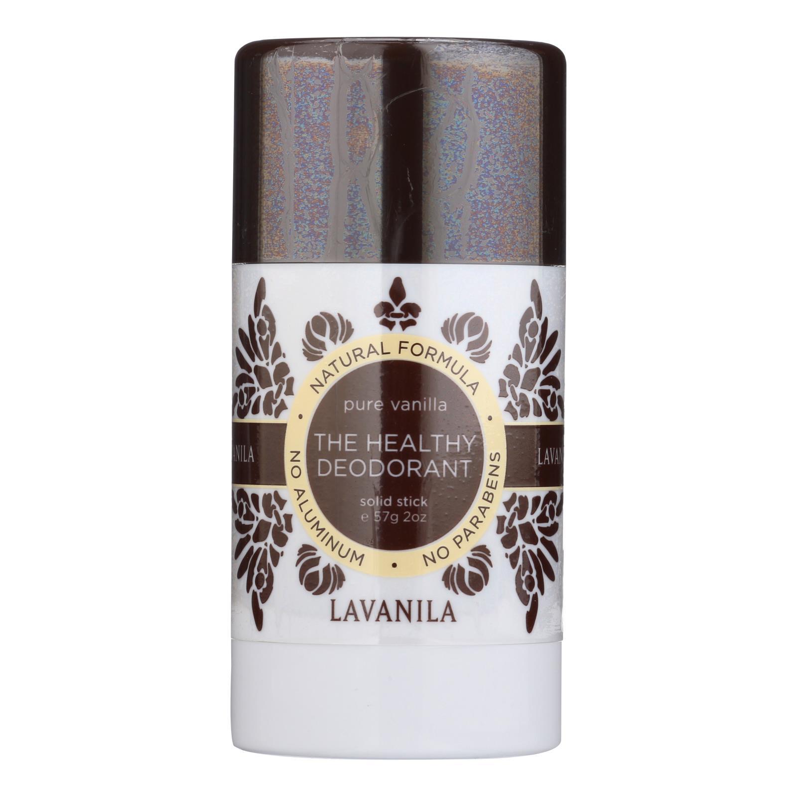 Lavanila Laboratories The Healthy Deodorant - Stick - Pure Vanilla- 2 oz