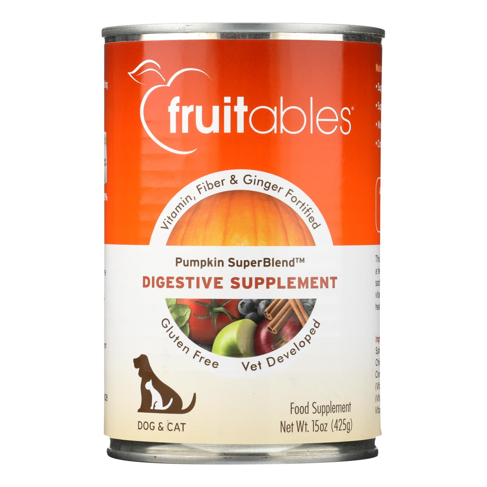 Fruitables Digestive Supplement  - Case of 12 - 15 OZ