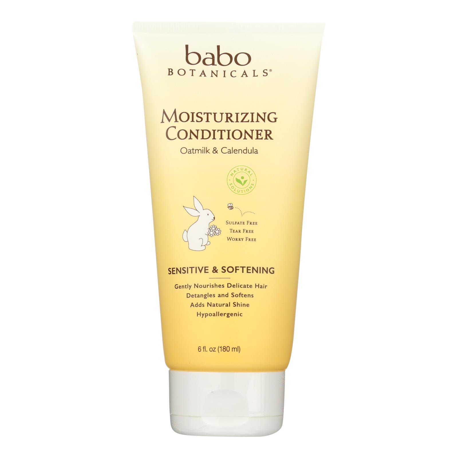 Babo Botanicals - Conditioner - Moisturizing - Oatmilk - 6 oz