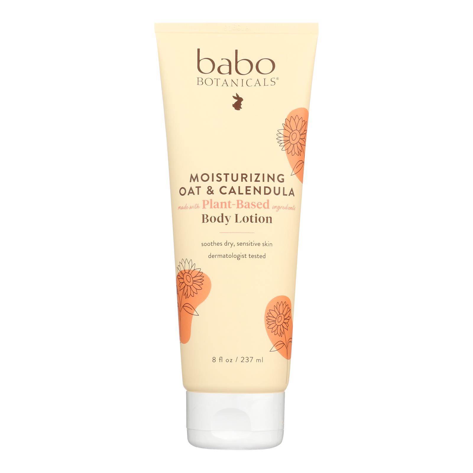 Babo Botanicals - Oatmilk Calendula Moisturizing Baby Lotion - 8 fl oz