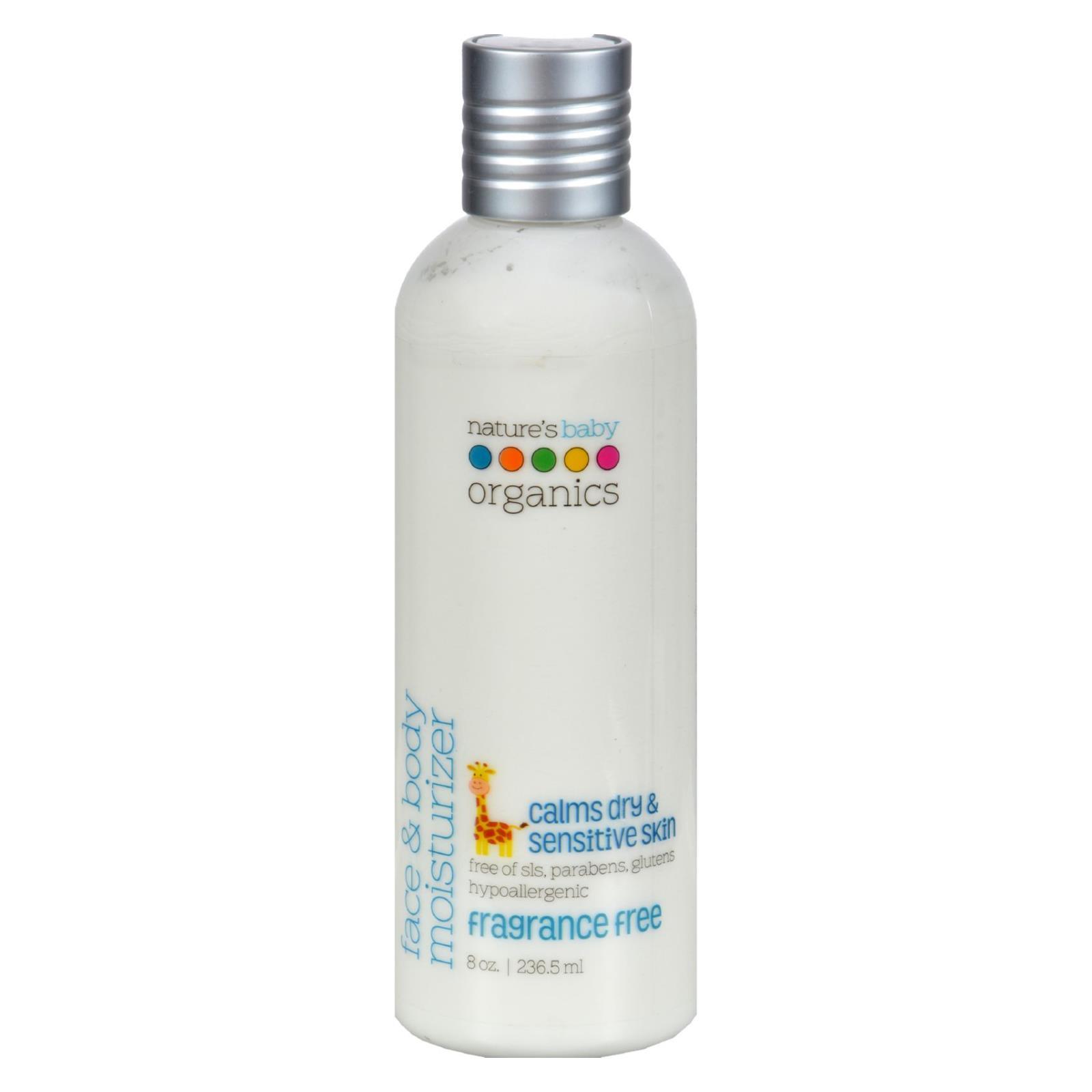 Nature's Baby Organics Face and Body Moisturizer Fragrance Free - 8 fl oz