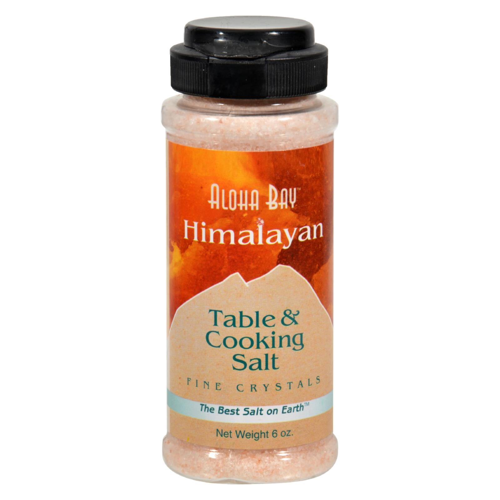 Himalayan Table And Cooking Salt Fine Crystals - 6 oz