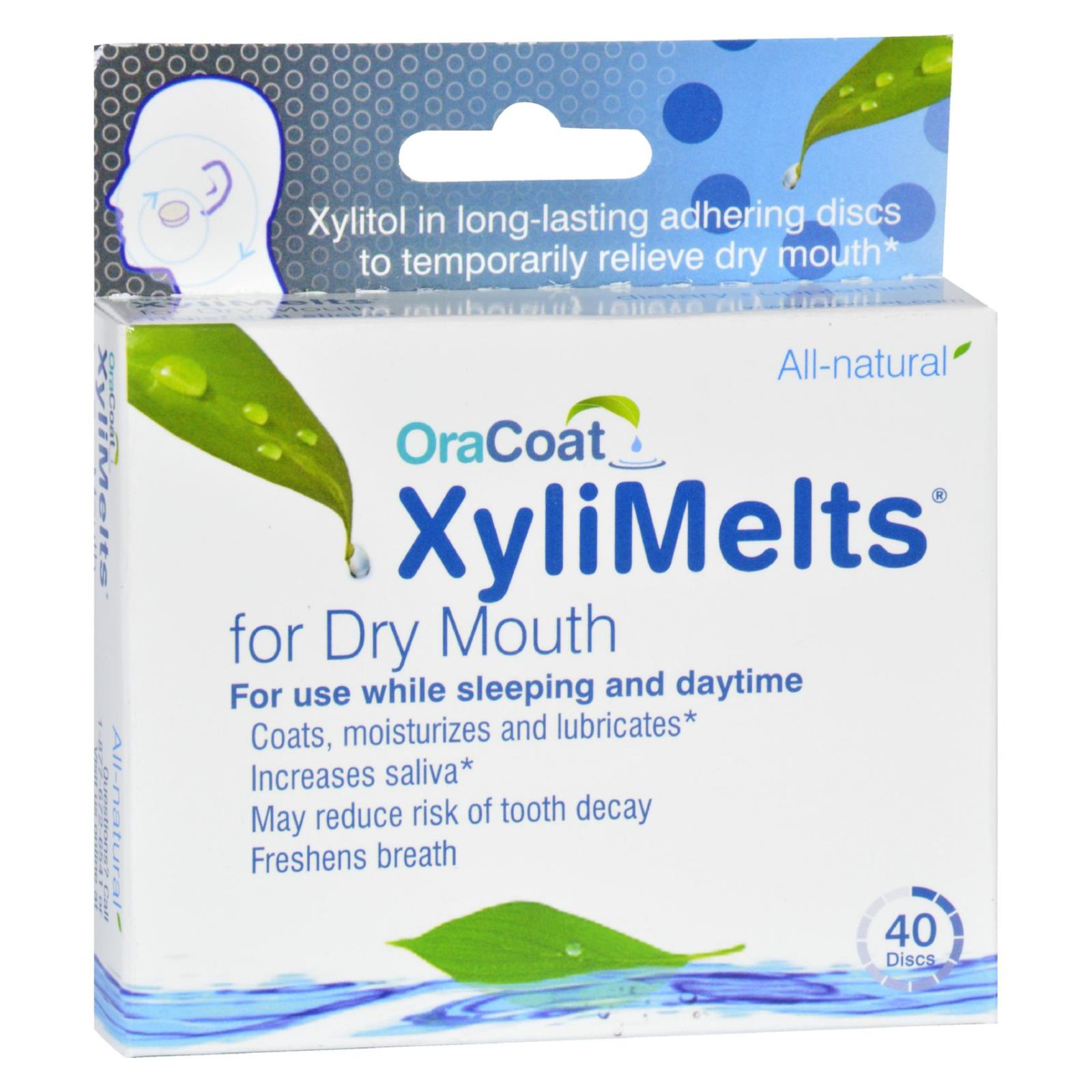 Oracoat - XyliMelts - Dry Mouth - Regular - 40 Count