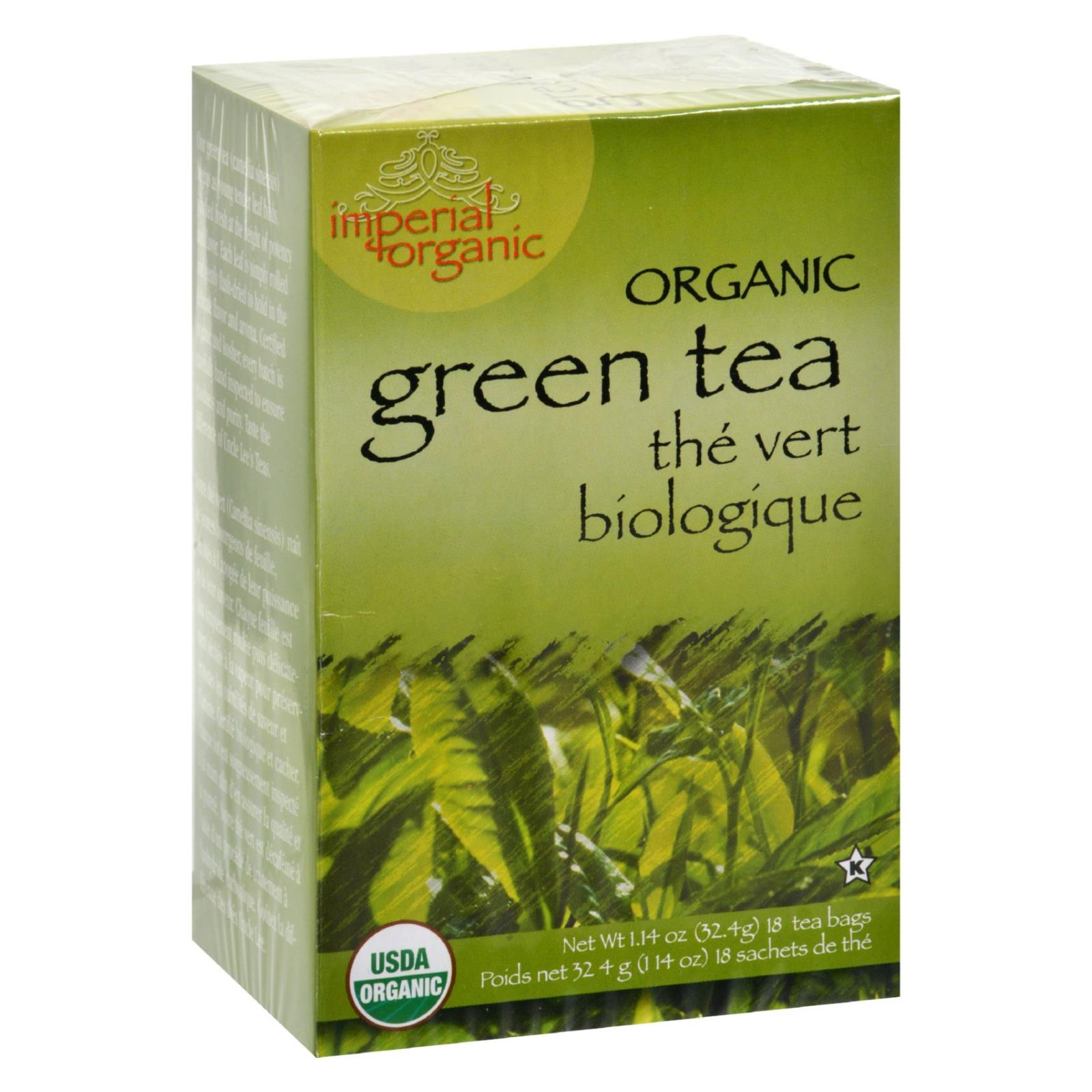 Uncle Lee's Imperial Organic Green Tea - 18 Tea Bags