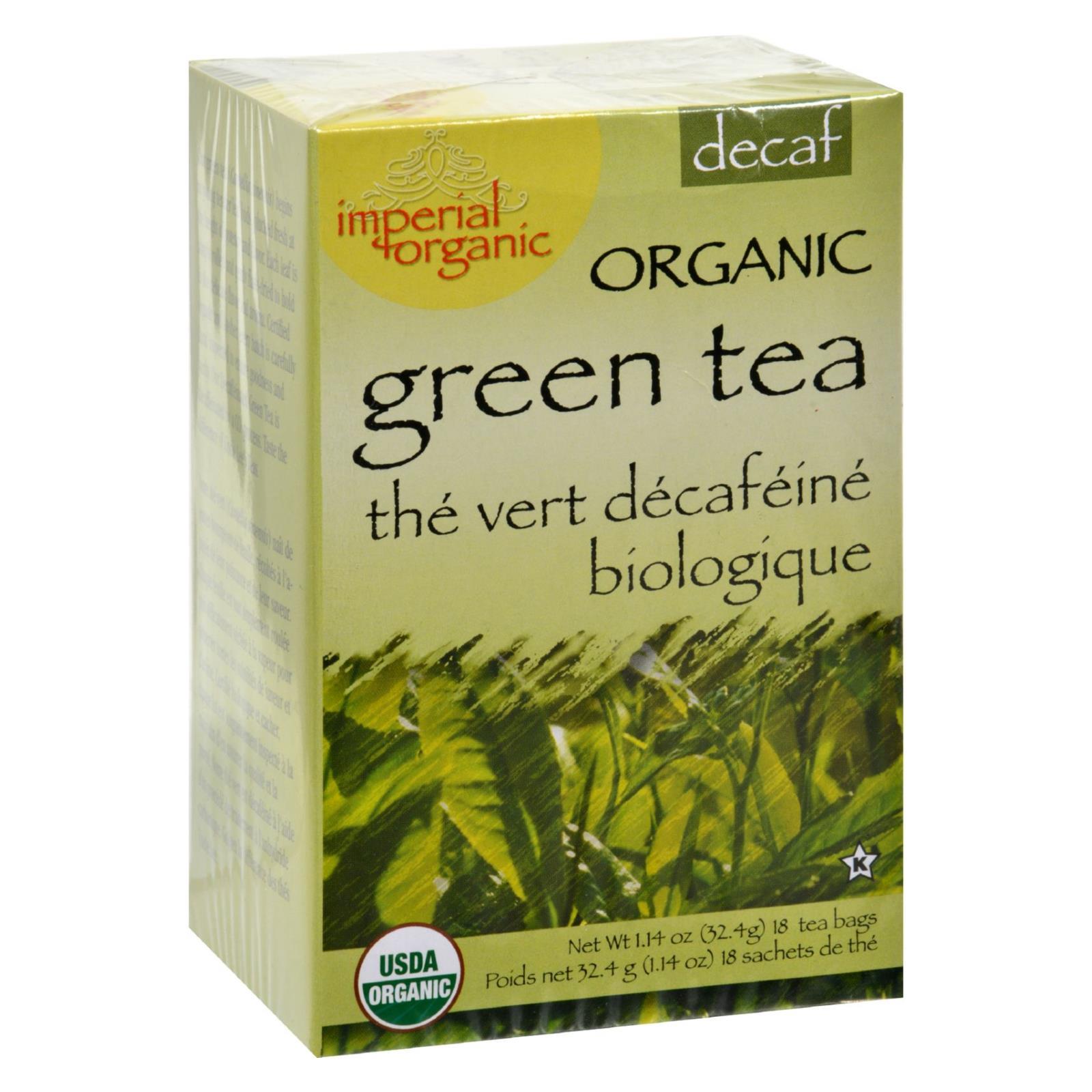 Uncle Lee's Tea Organic Imperial Decaffeinated Green Tea - 18 Bags