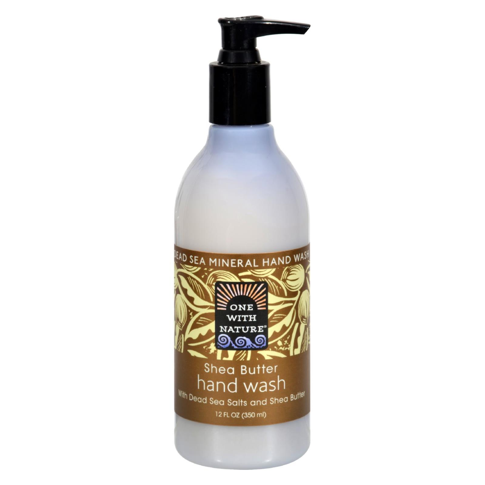 One With Nature Dead Sea Mineral Moisturizing Hand Wash Shea Butter - 12 fl oz
